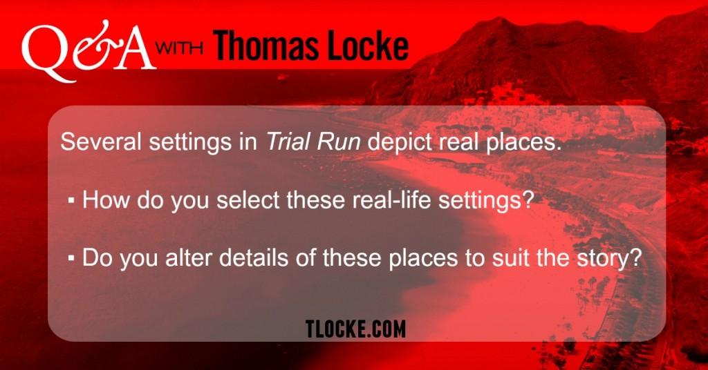 Trial Run Settings