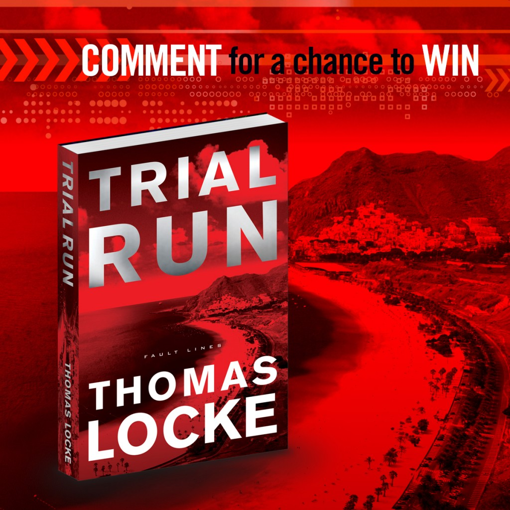 Comment for a chance to win a copy of TRIAL RUN