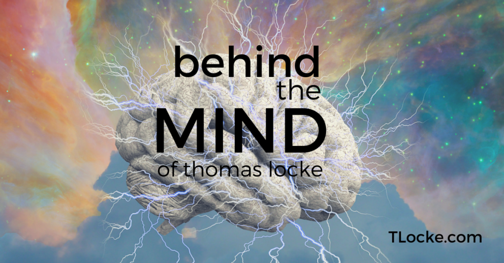 Behind the Mind of author, Thomas Locke
