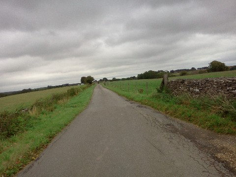 Thomas Locke's bicycling trip through the Cotswolds in England