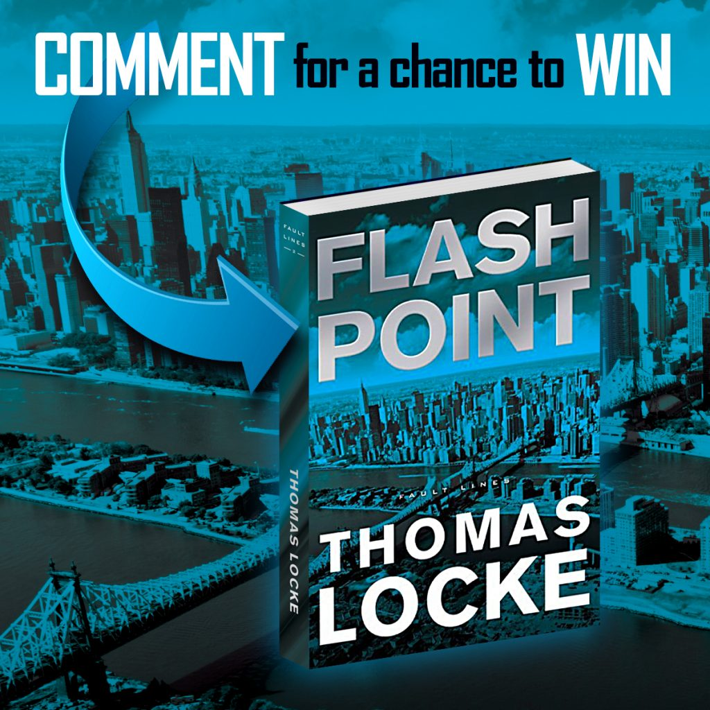 Comment for a chance to win Flash Point and Trial Run by Thomas Locke