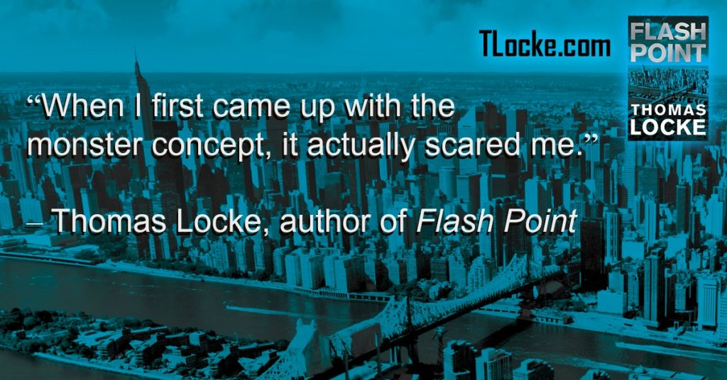 How I Weave the Element of Danger Into my Techno-Thriller, 'Flash Point' | TLocke.com